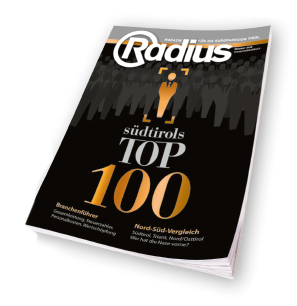 Magazin Radius Top 100 DATEF